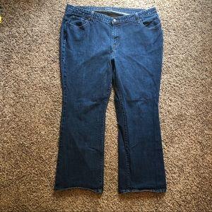 Levi's sz 24 straight leg stretch jeans EUC
